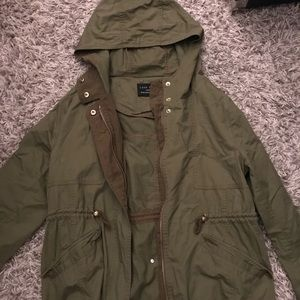 Green Love Tree jacket size L